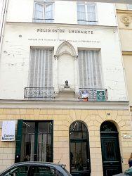 Buste d'Auguste Comte – Rue Payenne – Paris (75004)