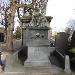Tombe Nicoud – Duclos – Cimetière du Père Lachaise – Paris (75020)