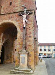 Christ en croix – Croix de mission – L'Isle-en-Dodon
