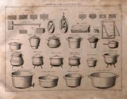 DUR_1868_PL000_A – Gauffriers, poulies, poids, bûche, châssis, marmites, chaudières