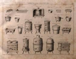 DUR_1868_PL000_B – Grilles, réchauds, coquille, fourneaux, poêles, marmite