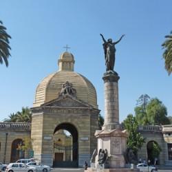 Monumento a las Víctimas del Incendio de la Compañía – Cementerio General – Santiago de Chile