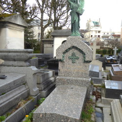 Tombe Georges Moreau – Cimetière du Père-Lachaise – Paris (75020)