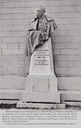 Buste du monument à Célestin Hennion (fondu) – Gommegnies
