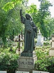 Monument à Anton C. Don – Cimetière Bellu – Bucarest