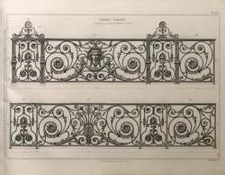 DUR_1868_PL061_N – Grands balcons composés par M. Blondel Architecte