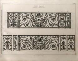 DUR_1868_PL061_O – Grands balcons composés par M. Blondel Architecte
