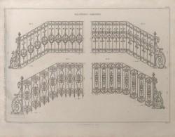DUR_1868_PL065 – Balustrades rampantes