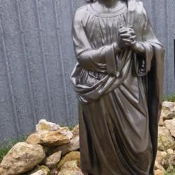 Statue de saint Jean  Saint-Georges-sur-Cher