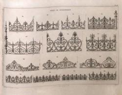 DUR_1868_PL093 – Frises de couronnement