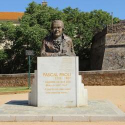 Buste Pascal Paoli à Ajaccio