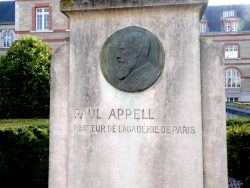 Monument à Paul Appell – Cité internationale universitaire – Paris (75014)