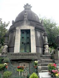 Sépulture du marquis de Casa-Riera – Division 44 – Cimetière du Père Lachaise – Paris (75020)