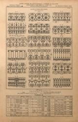 VO1_PL030 – Balcons de croisées – Motifs séparés pour être montés sur fer