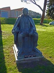 Statue – Marquis Ludovic de Solages – Blaye-les-Mines