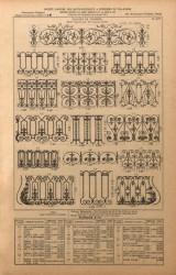 VO1_PL031bis – Balcons de croisées – Motifs séparés pour être montés sur fer