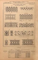 VO1_PL031_B – Balcons de croisées et motifs séparés pour être montés sur fer