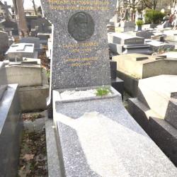 Tombe Laurent Monnet – Cimetière du Père-Lachaise – Paris (75020)