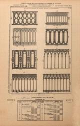 VO1_PL039 – Balcons de croisées et grands balcons ou balustrades