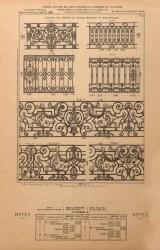 VO1_PL041 – Balcons de croisées et grands balcons ou balustrades
