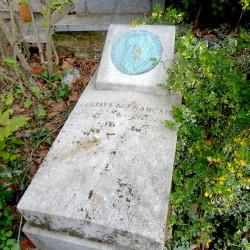 Tombe de Gustave Lefrançais – Cimetière du Père Lachaise – Paris (75020)
