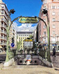 Entrée de métro Guimard – Picoas – Lisboa – Lisbonne