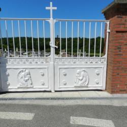 Grille de cimetière – Saint-Victor-l'Abbaye