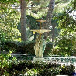 Vasque-fontaine Les Trois Grâces de l'Institut hélio-marin – Hyères
