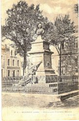 Monument à Frédéric Bastiat (Fondu) (Remplacé)- Mugron