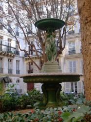 Fontaine – Cité Trévise – Paris (75009)