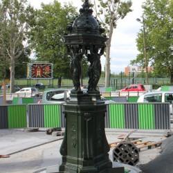 Fontaine Wallace – Rue d'Avron – Paris (75020)