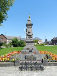 Monuments aux morts 1914-18 et 1939-45 – Bachant