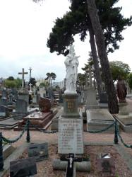 Vierge – Cimetière Saint-Michel – Saint-Brieuc