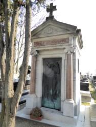 Sépulture de la famille J. Chouanard – Cimetière du Père-Lachaise – Paris (75020)