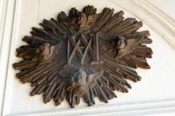 Applique A [Chiffre de Marie] – Collection privée – Santiago de Chile