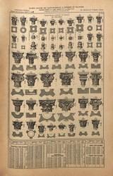 VO1_PL221 – Chapiteaux, bagues et bases de colonnes
