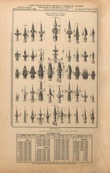 VO1_PL223 – Lances, fleurons, faisceaux, palmettes, entre-deux de grilles