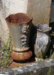Ornements et porte-bouquets – Cimetière de la ville – Cahors