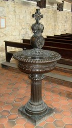Fonts baptismaux – Chapelle Hôpital Saint-Louis – Paris (75010)
