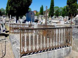 Enclos funéraire Depeyre – Frézouls – Cimetière de la ville – Cahors