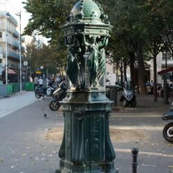 Fontaine Wallace – Place Richard-Baret – Paris (75017)