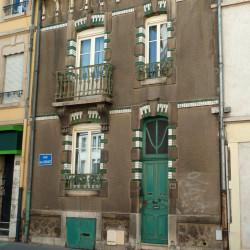 Balcons Guimard – 40 rue Émile Gebhart – Nancy