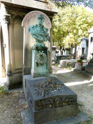 Buste du général Wimpffen – Cimetière du Père-Lachaise – Paris (75020)