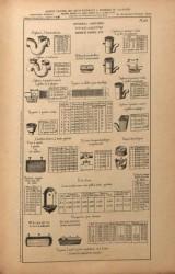 VO1_PL951 – Appareils sanitaires, tuyaux à ailettes, robinets, vannes, etc