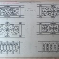 DUC_VO_PL176_F22 – Balcons de croisées