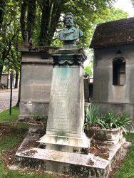 Buste d'Eugène Cleray – Cimetière du Père Lachaise – Paris (75020)