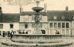 Fontaine monumentale des trois Grâces (détruite) – Fismes