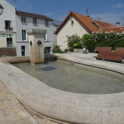 Mascarons de fontaine – Villeneuve-le-Roi