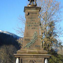 Monument aux morts – Laveissière