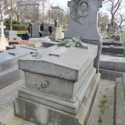 Tombe Lacroix-Giraud – Cimetière du Père-Lachaise – Paris (75020)